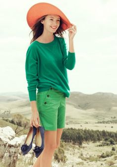 Sara Lindholm #photography #fashion #hills #female #green