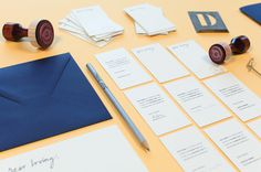 LaPlanche Design | Dear Irving #stationary #branding #identity #bar #cocktail