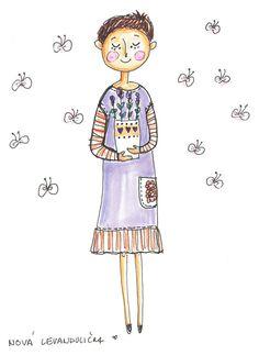 lavender #illustration