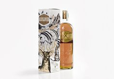 Bendmore Four casks Packaging on Behance #packaging #whiskey #drawn #hand