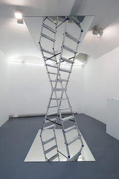infinite ladder by Dmitri Obergfell