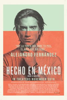 Hecho en Mexico Movie Trailers iTunes #movie #photography #poster #film #promotion #typography