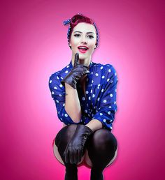 Pin Up Girl by Deniz Okan #inspiration #pin #photography #up