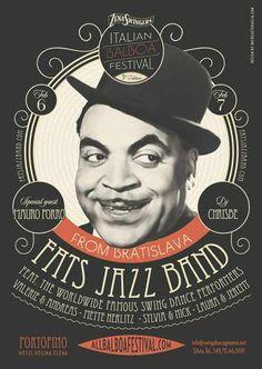 #poster #vintage #retro #lindy hop #swing #balboa #fatswaller #micheletenaglia