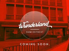 WUNDERLAND aka landwunder.tumblr.com / coming soon: friedrichsring 1 (siegesdenkmal), 79098 freiburg. #branding #wunderland #wunerland #landwunder #+ #variables #zeitgeist #raum