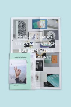 Influence on the Behance Network #graphic design #typography #type #layout #book #publication #editorial #inspiration
