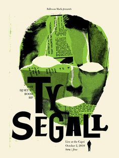 Ty Segall #screen #print #gigposter
