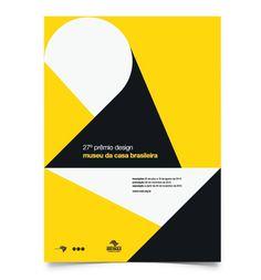 27º Prêmio Design Museu da Casa Brasileira #numbers #design #graphic #poster #modernism #type