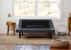 dreamcloud's adjustable bed frame - front view