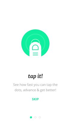 tapppit! by Dmitri Litvinov #slideshow #carousel #tutorial #iphone #app #mobile #walkthrough #ios