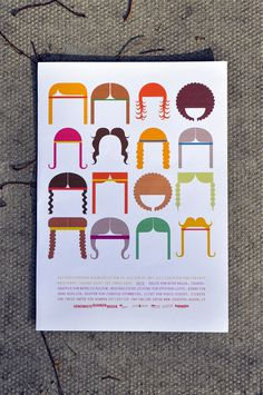 © juliapeintner.com; hair, poster 2010 #hair #colour #musical #poster