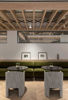 Fora Coworking Space at 22 Berners Street, London by Oktra