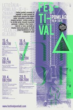 Festival Pomladi | vbg.si - creative design studio #music #print #flyer