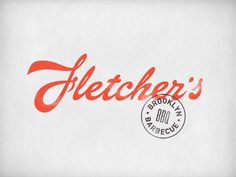 Fletcher's on Behance #identity