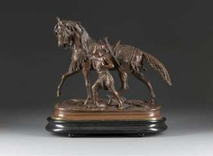 PAUL-EDOUARD DELABRIÈRRE 1829 Paris - 1912 ebenda 'The horse of the Sultan' (Das Pferd of the Sultans)