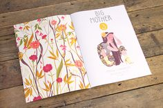 Nobrow – Big Mother # 3: Riikka Sormunen (Limited Edition of 2000) #plants #girl #big #publication #eye #illustration #mother #nobrow