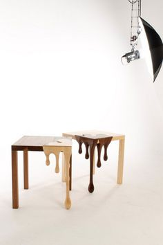 Matthew Robinson present chocolate funiture #tables #fusion #chocolate #furniture #art