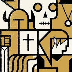 We are a graphic design studio in Minneapolis. This is our blog. | Studio MPLS #skull #lineart