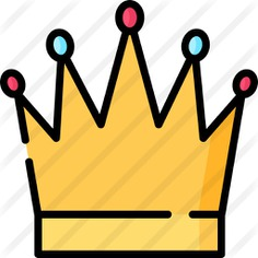 See more icon inspiration related to cultures, monarchy, royal crown, queen, king, crown and fashion on Flaticon.