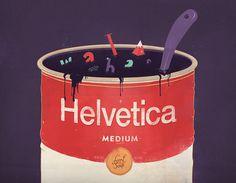 Helvetica soup