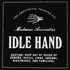 All sizes | IDLE HAND | Flickr Photo Sharing! #idle #hands