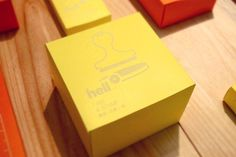 Hello *update* : Hello! #stamp #yellow #graphic #illustration #stationery #package