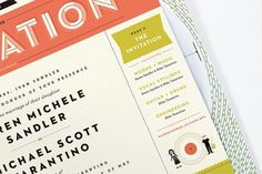 A Paper Record Player : Kelli Anderson #invitation #design #graphic #anderson #wedding #kelli