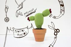 My first amigurumi #crochet #amigurumi #craft #handmade #cacto #ganchillo #cactus