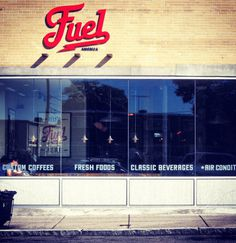 Fuel #lettering #branding #fuel #classic #american #identity #diner #signage #typography
