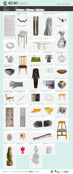 Crafts Council #gallery #portfolio #website #digital #craft #council