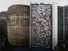 ANDREAS GURSKY Copan,2002 Colour coupler print,... - * #oscar #niemeyer #gursky #photography #architecture #brazil #andreas #facades