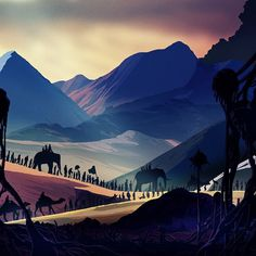 Illustrations by Kilian Eng | Cuded #kilian #eng #illustrations