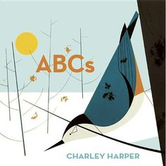 ABCs (Chunky Version): Charley Harper: 9781934429075: Amazon.com: Books #book #illustration #drawn #minimal #childrens #children #hand