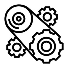 See more icon inspiration related to process, cogwheel, execution, construction and tools, cogwheels, gears, operation and mechanism on Flaticon.