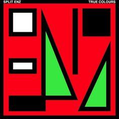 Item 216: True Colours album covers / Noel Crombie (Split Enz) / 1980 Â« Recollection #album #record #1980 #australian #noel crombie #split