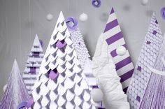 Purple Wishes on the Behance Network #deer #geometric #purple #made #object #hand