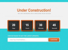 Count down under construction psd Free Psd. See more inspiration related to Blue, Construction, Web, Psd, Under construction, Counter, Down, Horizontal, Count and Count down on Freepik.