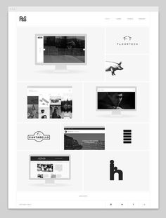 R&Co. Website - http://r-ny.com #responsive #design #clean #website #grid #minimal #web