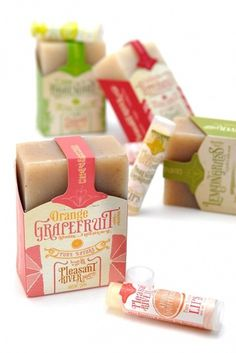 Grapefruit packaging #print #packaging #soap