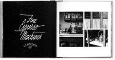 La Marzocco Year Book 2011 | Designbüro Sven Hoffmann #photography #lettering #john contino #editorial #sven hoffmann