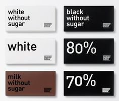 Chocolate package design #chocolate #design #packaging #typography