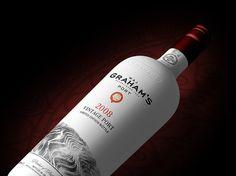 Grahams Port Bottle Concept #bottle #packaging #render #wine #port #3d