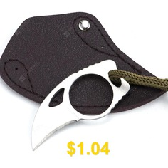 Outdoor #Portable #Rescue #Knife #Mini #Claw #Knife #- #SILVER
