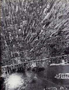 perspective20.com » vintage #aerial #city #skyscraper #photography #vintage #york #new