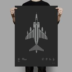Harrier GR.3 screen print