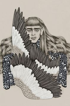 The Black Harbor    Tara Dougans #tara #illustration #dougans