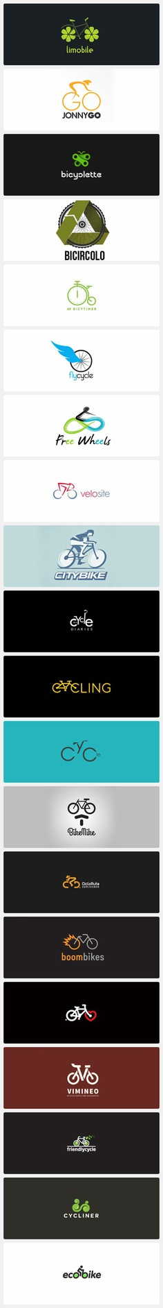 Creative Bicycle Logo Design Ideas
