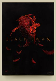 Black Swan by Lukas Doraciotto #swan #movie #black #poster