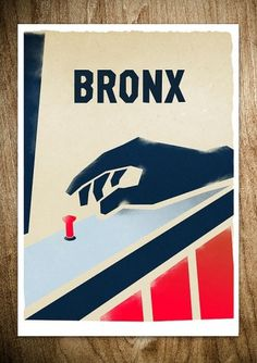 BRONX - THE DOOR TEST - Rocco Malatesta Posters & Prints #movie #bronx #malatesta #graphic #rocco #illustration #poster