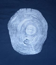 Fourth is King x Bryan Nash Gill: Locust Navy #woodcut #tree #tshirt #art #streetwear #fashion